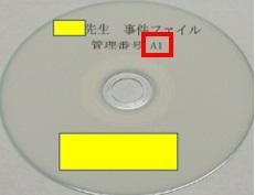 書類電子化CD管理